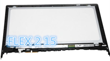 For Lenovo Flex 2 15 15D+Front Bezel 1920X1080 lcd display touch screen digitizer frame assembly replacement LP156WF4-SPL1