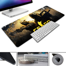 2017 New Simple Design Speed CS GO Game MousePads Computer Gaming Mouse Pad Gamer Play Mats Version Mousepad