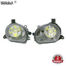 2 pcs LED Licht Voor Audi A3 2003 2004 2005 2006 2007 2008 Auto-styling Voor LED Bumper Fog lamp Mistlamp(China)