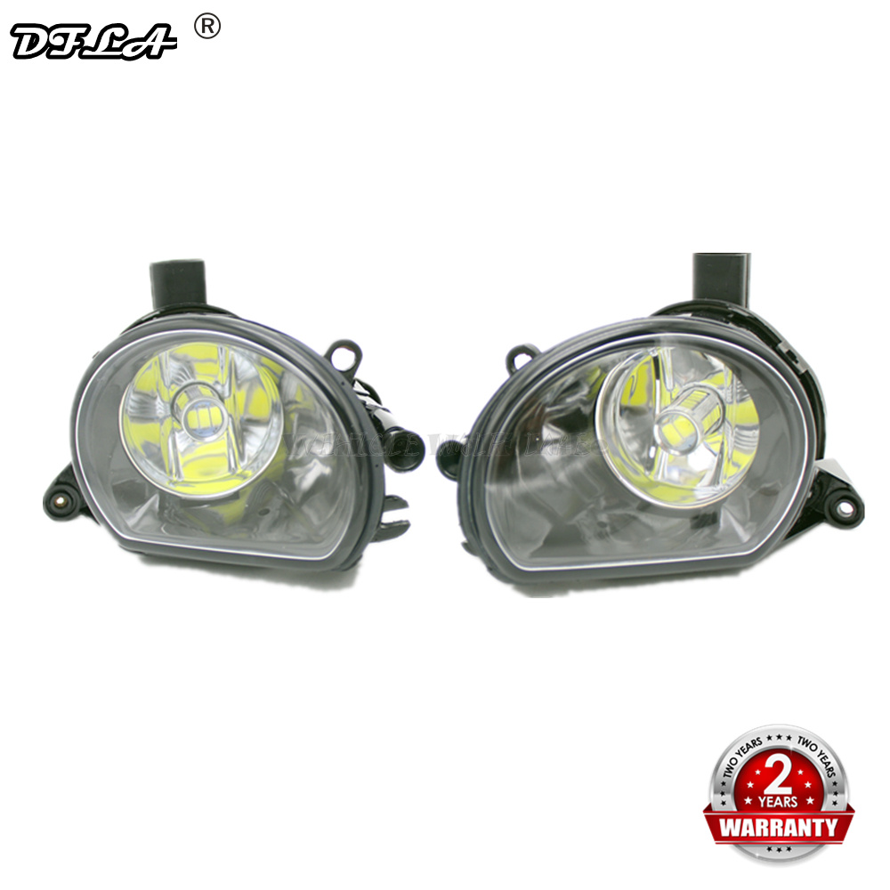 2pcs LED <font><b>Light</b></font> For <font><b>Audi</b></font> <font><b>A3</b></font> 2003 2004 2005 <font><b>2006</b></font> 2007 2008 Car-styling Front LED Bumper Fog Lamp Fog <font><b>Light</b></font> image