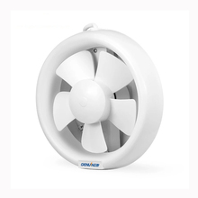 220V 208mm plastic bathroom / kitchen wall mounted low noise ventilating fan (China)
