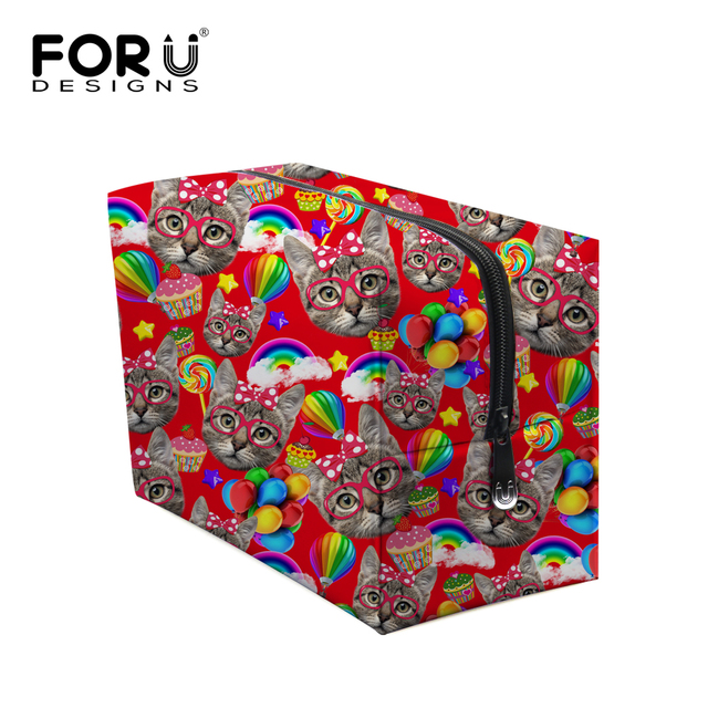 Brand Luxury Travel Organizer Nesesser Storage Bag Beauty Portable Case Designer 3D Animal Makeup Box Woman Mixed Cosmetic Pouch