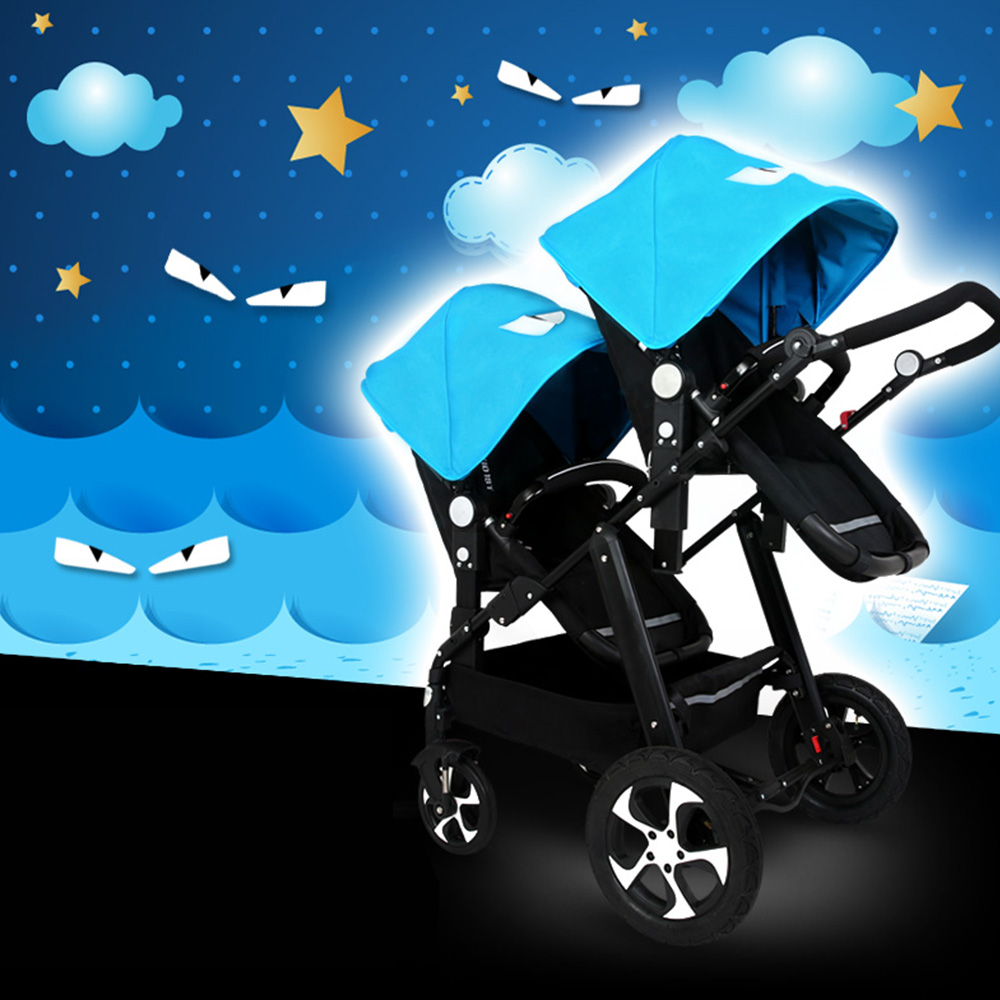 Twin Stroller Baby Carriage For Twins Prams For Newborns Cute ...