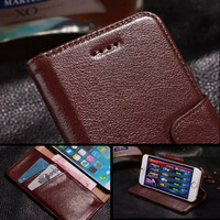 Coque Case For Iphone 6 Plus 5 5 Inch Luxury Yak Genuine Leather Case High End