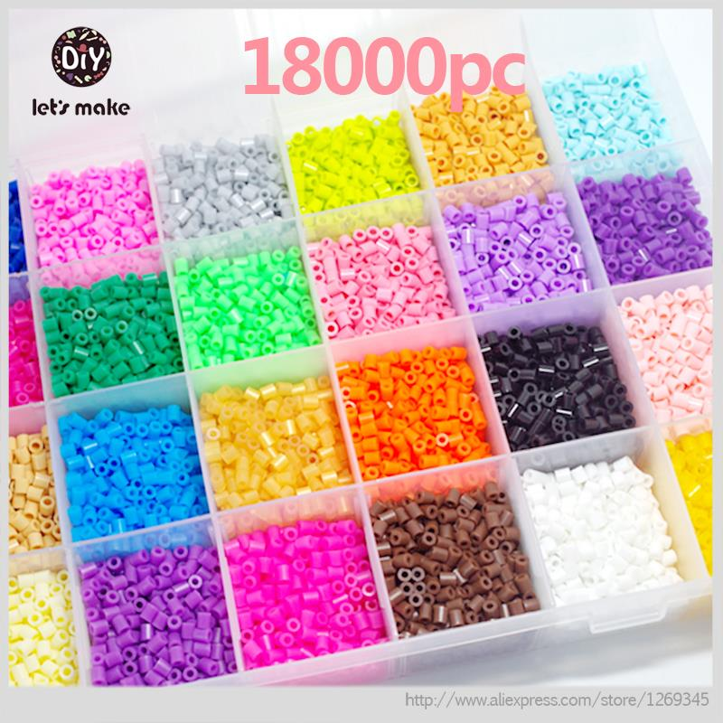 lets-make-5mm-perler-beads-28-colors-18000pcs-box-setfontb3-b-font-template-5-iron-papers-2tweezers-