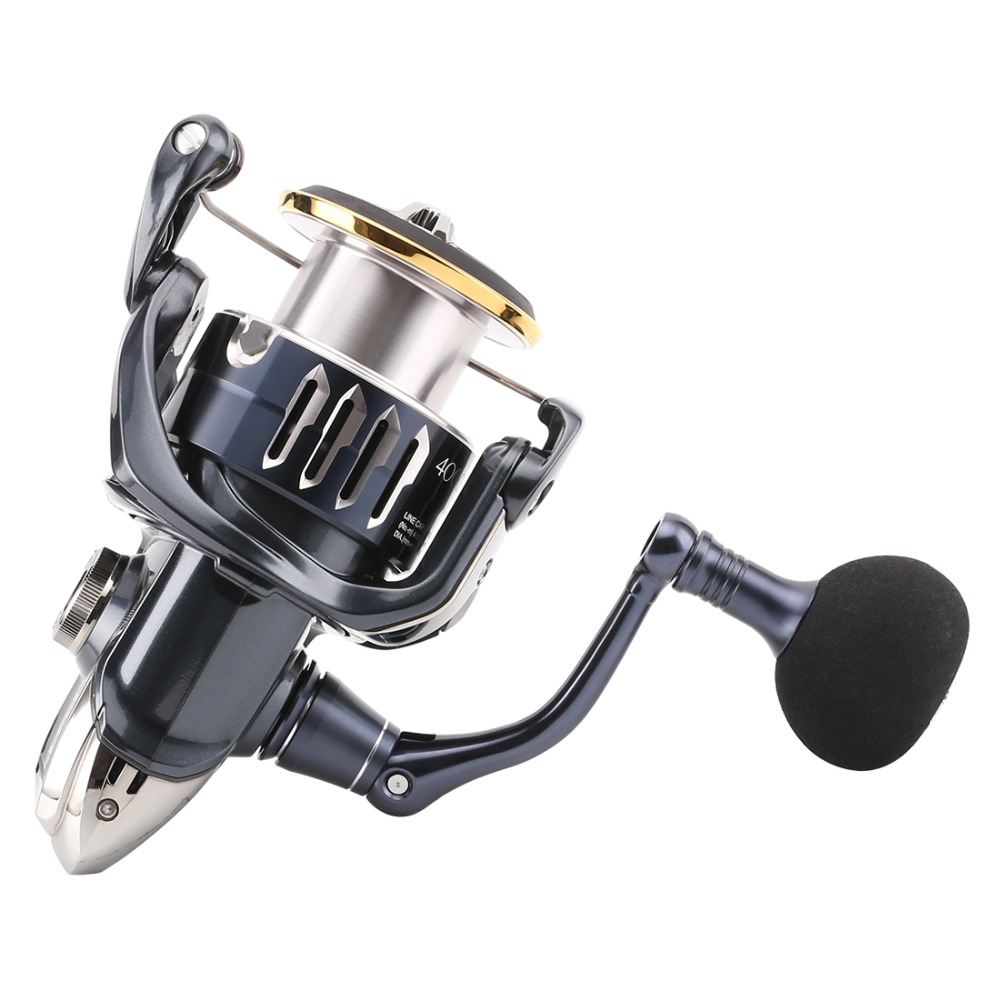 US $431 75 |NEW SHIMANO Spinning Fishing Reel TWINPOWER XD 3000/4000/5000  Fishing Line wheels 9+1BB WaterProof Fishing Reel-in Fishing Reels from
