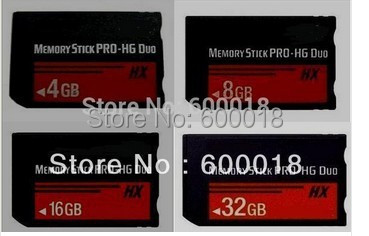 50% OFF h2testw Full real Capacity High Speed MS HX 4GB 8GB 16GB 32GB 64GB Memory Stick Pro Duo Memory Cards Free Gift