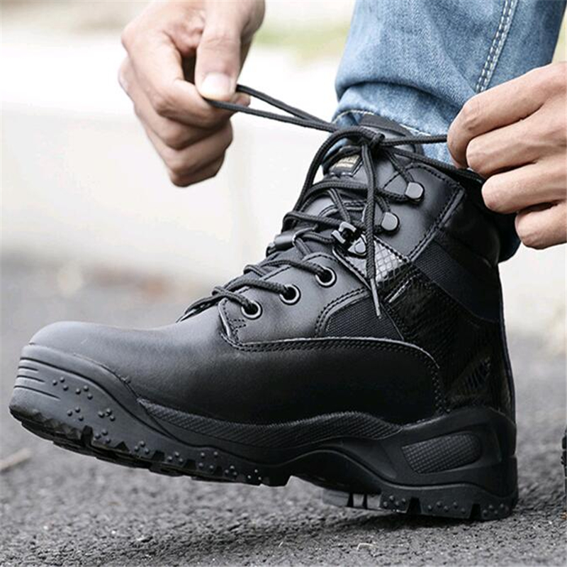 Autumn Winter Tactical Boots Military Boots Male Special Forces Combat Boots Men Outdoor Waterproof Hiking Shoes Sneakers TravelAutumn Winter Tactical Boots Military Boots Male Special Forces Combat Boots Men Outdoor Waterproof Hiking Shoes Sneakers Travel