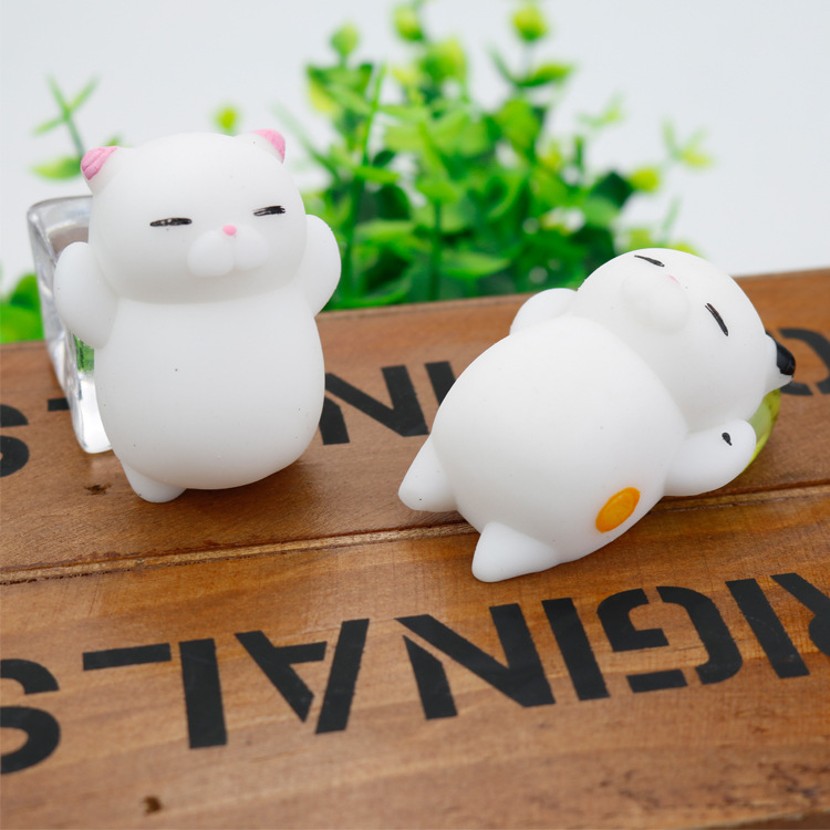 Mini Kawaii Cat Squishy Toy Anti-Stress