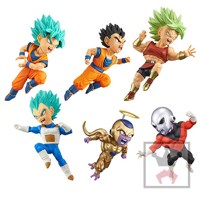 Dragon Ball Super Z WCF monde à collectionner Figure bataille de SAIYANS Vol.9 ensemble complet 100% Original