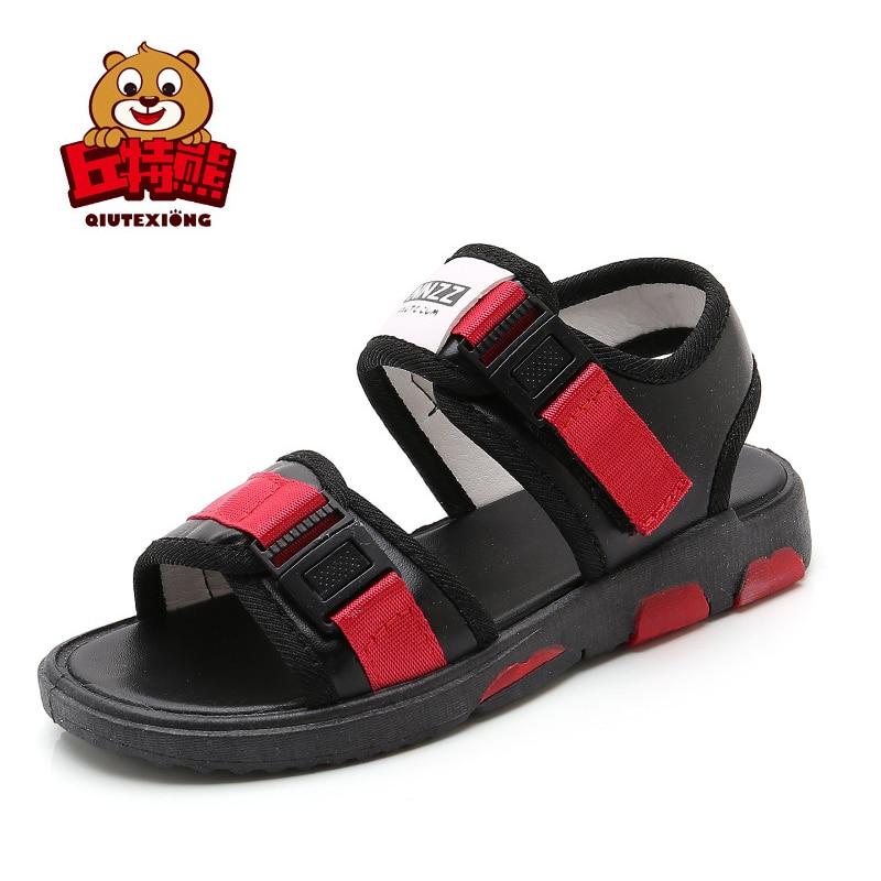 2018 Summer Children Casual Soft Sandals For Boy Girls Kids Flat with Beach Sandals Child Summer Hook Sandals Kids Girls