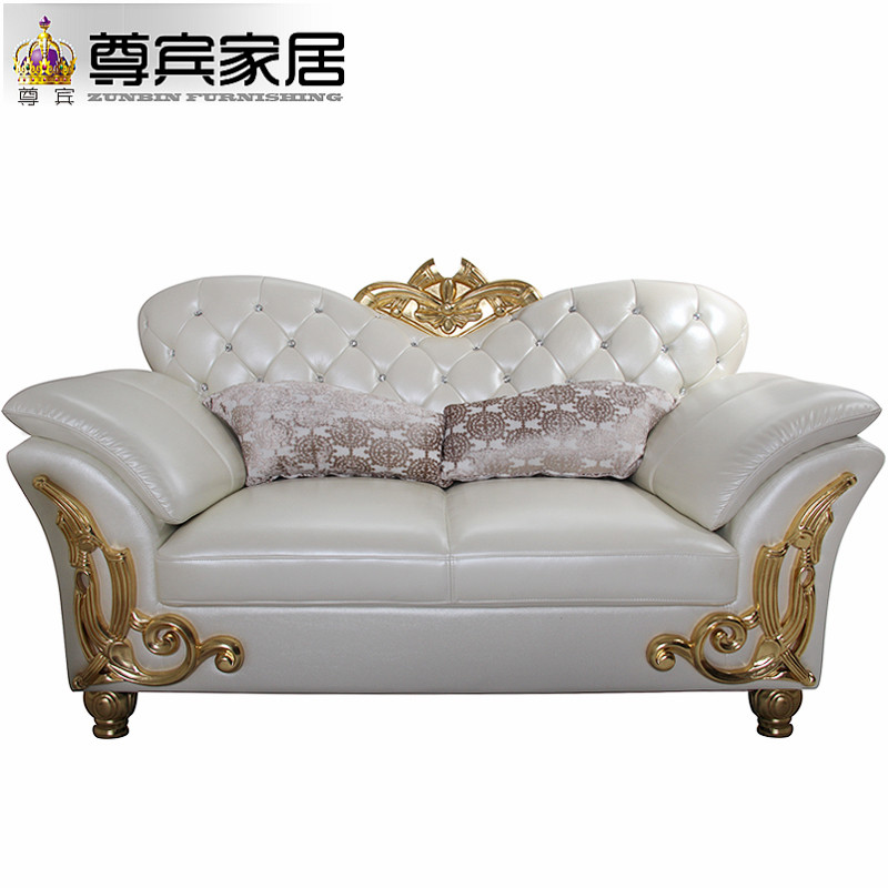 Moroccan Sex New Classic Antique Superb Gold Carved Wood Frame Double Sided  Living Room Imperial Leather Sofa Chair Set Designs In Living Room Sofas  From ...