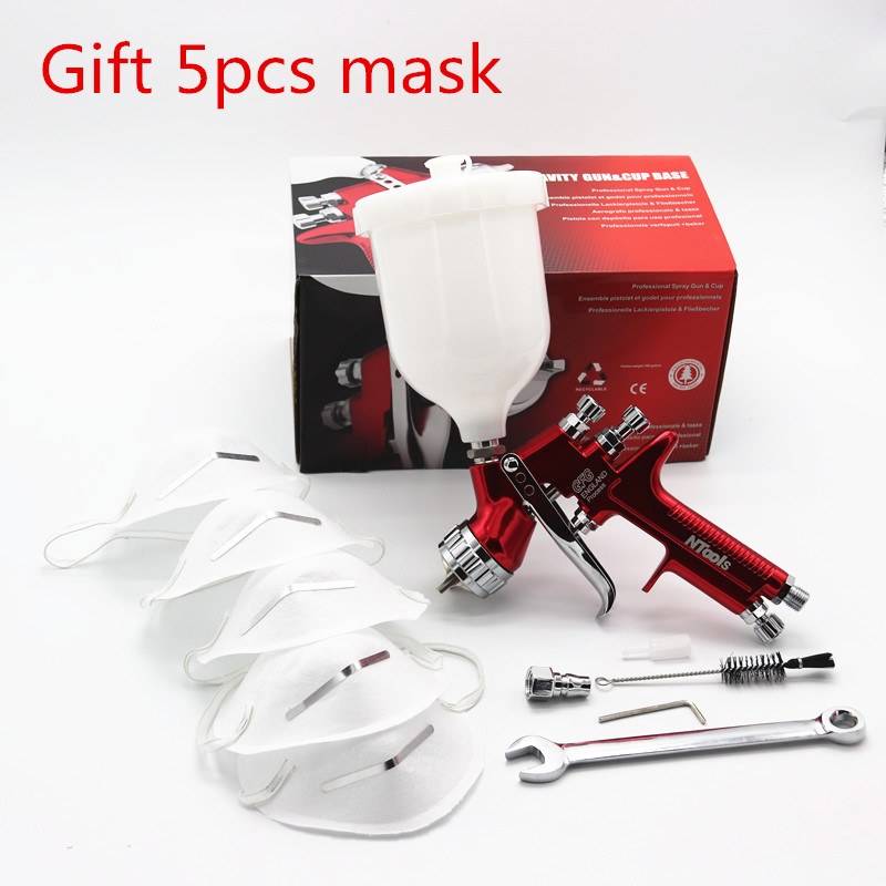 Wholesale and retail GFG High atomizationPro professional spray gun LVMP car paint gun painted high efficiency