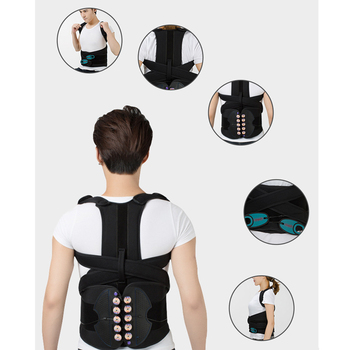 Adjustable Posture Corrector Back Support Belt for Men Women