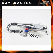 Rc car High speed tube Sonic version Silencer exhaust pipe(R2) for 1/5 hpi rovan km baja losi 5ive-T parts