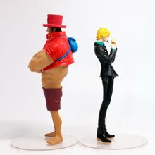 2 piece set Tony Tony Chopper Sanji Action Figure