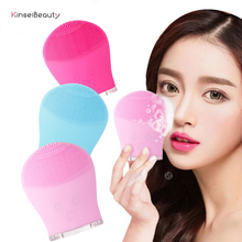 Facial Cleansing Brush Sonic Silicone Face Scrubbers Waterproof Electric Face Cleanser and Massager Brush for All Skin Types