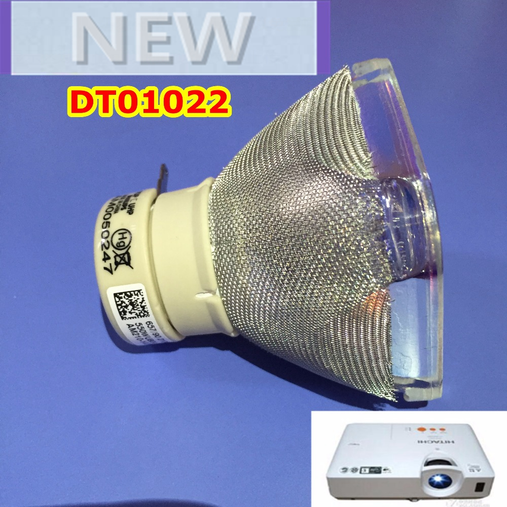 Original Projector Lamp Bulb DT01021 for HITACHI CP-X3014WN/CP-X3015N/CP-X3015WN/CP-X3511/CP-X4011N/CP-X4014WN/CP-X4015WN/ED-X40 dt01151 projector lamp with housing for hitachi cp rx79 ed x26 cp rx82 cp rx93 projectors