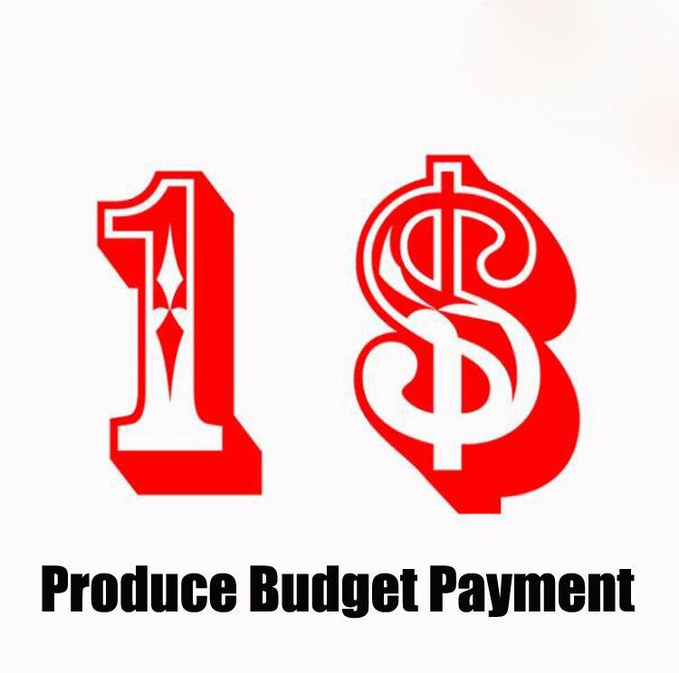 Produit Budget paiement/remplir l'affranchissement/différence de prix/réédition des marchandises