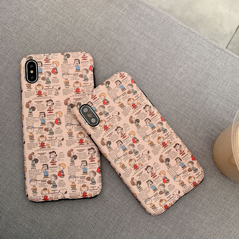 Cute cartoon silicon case for iPhone 8 7Plus 8Plus XR 6 6Plus 6S 6sPlus 7 X XS XSMAX cover soft embossing effects for women girl in Fitted Cases from Cellphones Telecommunications