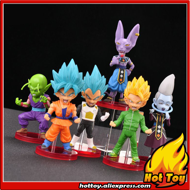 100% Original Banpresto WCF Complete Collection Figure Z Warriors - Full Set of 6 Pieces from Dragon Ball SUPER secret warriors the complete collection volume 1