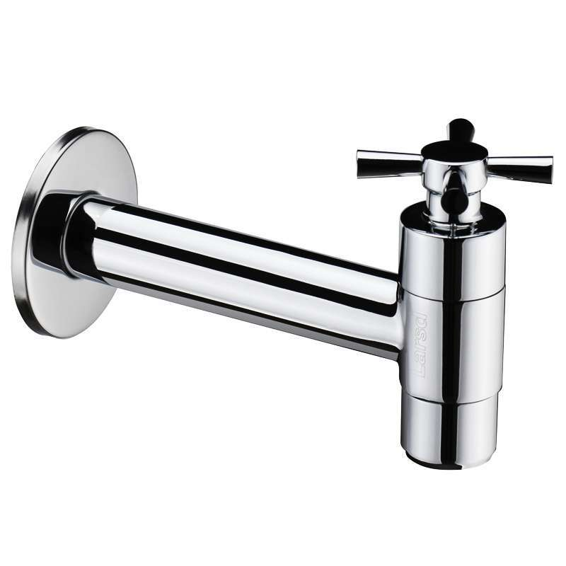 Unique Design Brass Single Function Cold Tap Washing Machine Bathroom Faucet