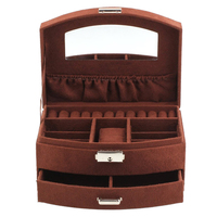 Jewellery Box Jewellery Storage Case For Storing Your Earrings Ear Studs Necklaces Bracelets And Rings Two