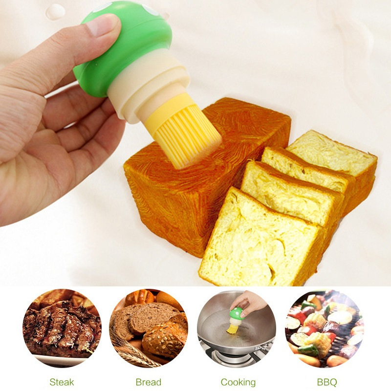 Fashion 1 Pc BBQ Oil Bottle Brushes Cream Basting Brush for Home Cooking Pastry grill barbecue Cake Tool HOT Selling