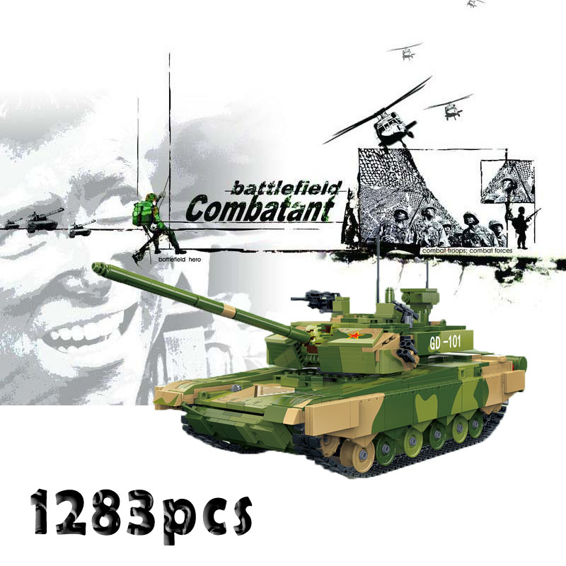 In 2018 New Military World War 2 Army Soldiers Swat City Street Tiger Tank 131 Model Building Blocks Toys Compatible With Lego Excellent Quality