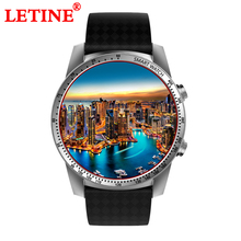 LETINE KW99 Smart Watch 3G MTK6580 8GB Bluetooth Android 5.1 SIM WIFI Phone GPS Watch Heart Rate Monitor Wearable Devices