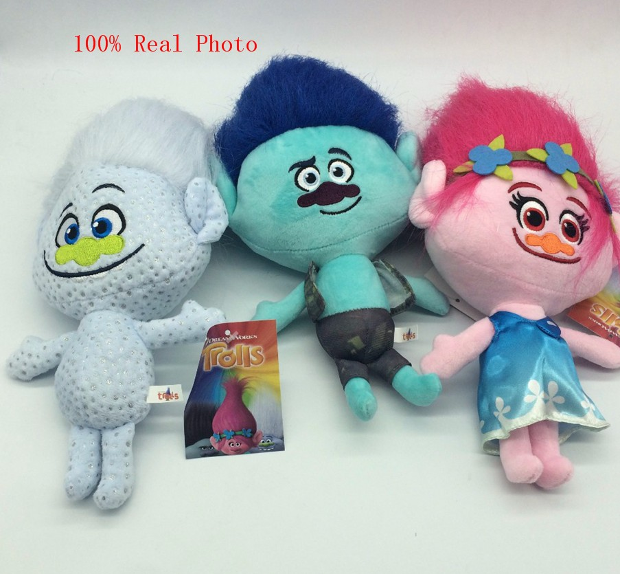 Big Discount Dreamworks Movie Trolls Toy Plush Trolls Poppy Trolls Figures Magic Fairy Hair Wizard Kids Toys
