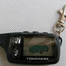 TW-9030 брелок, TW 9030 ЖК пульт дистанционного управления брелок для безопасности транспортного средства 2 полосная автомобильная сигнализация Томагавк TW9030