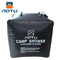 NEW 2019 Outdoor wild camping 40L solar shower bath field portable water Bathing bag with nozzle
