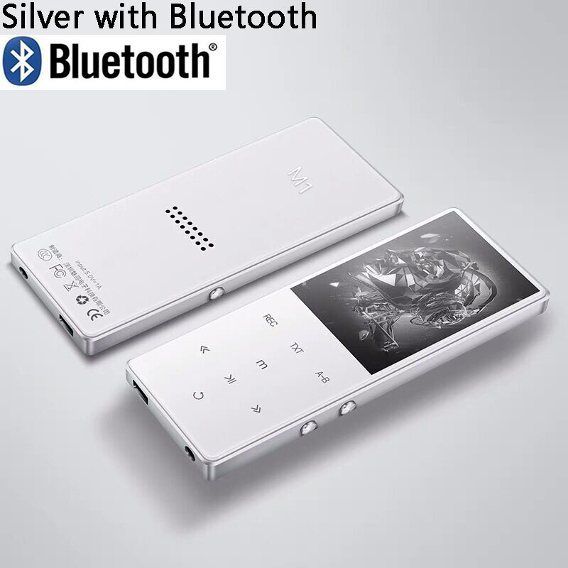 Bluetooth 4 2 Metal mp3 player 2 4 inch screen fm radio e book video lossless HIFI music mini portable sport audio player in HiFi Players from Consumer Electronics