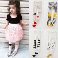 PUDCOCO Newest Hot Lovely Baby Kids Girls Cotton Tights Stockings Hosiery Pantyhose Cute Autumn Suit 1-7Y