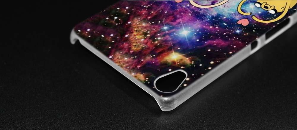 Binful время приключений Прозрачная крышка чехол для Sony Xperia XA xa1 x XZ Z5 z1 z2 z3 M4 Aqua M5 e4 E5 C4 C5 компактный премиум