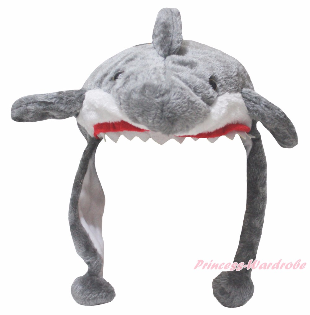 Animal Clothing Grey Shark Warm Hat Polyester Unisex Children Costume-in Hats u0026 Caps from Mother u0026 Kids on Aliexpress.com | Alibaba Group  sc 1 st  AliExpress.com & Animal Clothing Grey Shark Warm Hat Polyester Unisex Children ...