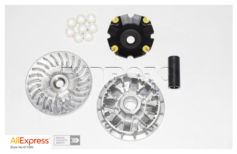 4SETS DRIVE WHEEL ASSY/ PULLEY WHEEL ASSY/BELT OF CF500/CF800/CFX8 DRIVE WHEEL PARTS CODE IS 0180 051000 0003/0180 052000 0003