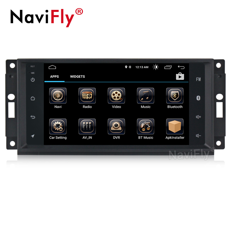 Android 8.1 HD 1024*600 Head Unit GPS Navi Radio Stereo Car DVD Player for JEEP Patriot Compass DODGE Journey Chrysler Sebring