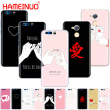 HAMEINUO darling be ok love simple style phone Cover Case for Huawei Honor 9 5A LYO-L21 5.0 inch 6A 6C 6X 9 NOVA PLUS Y3 II 2(China)