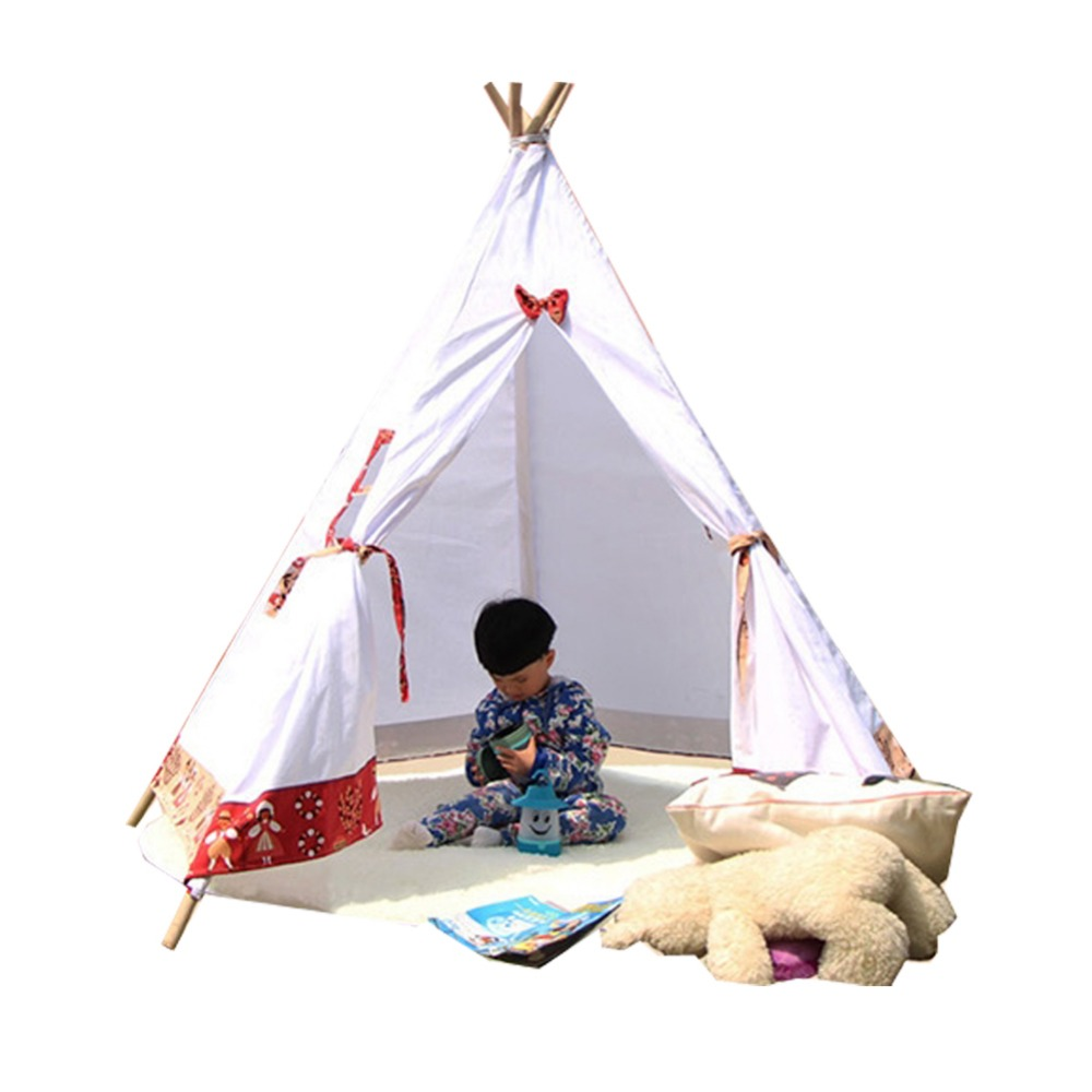 Free Love @4 poles kids play tent indian teepee tent-in Toy Tents from Toys u0026 Hobbies on Aliexpress.com | Alibaba Group  sc 1 st  AliExpress.com & Free Love @4 poles kids play tent indian teepee tent-in Toy Tents ...