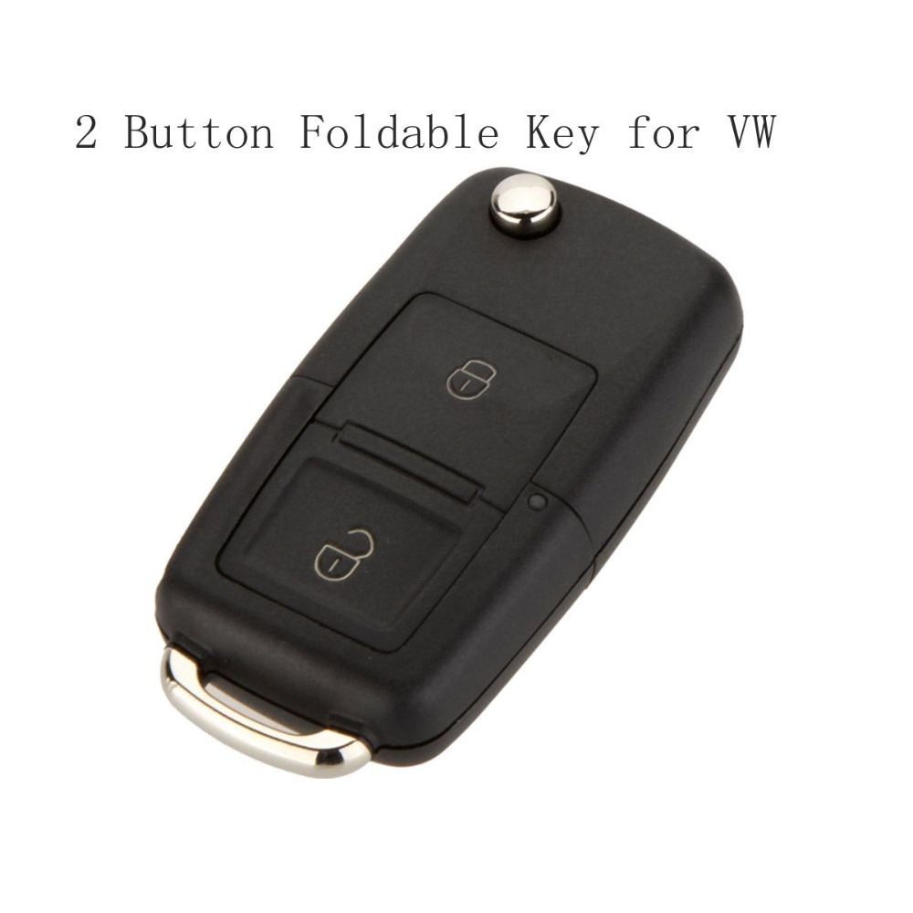 2 Button Remote Flip Folding Car Key Shell Replacement ...