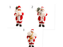 Christmas Electric Santa Claus Music Toys Kids Child Gift For Home Christmas Decoration 2017ing