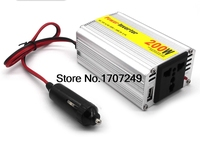 1 Pcs 200W Frequency Converter Car Power Inverter Converter DC12V To AC220V Modified Sine Wave Power