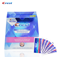 Crest Advanced Vivid Teeth Whitening Whitestrips Whitening Strips Oral Hygiene Dental White 14 Pouches 28 Strips