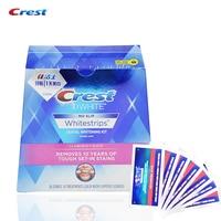 Crest Advanced Vivid Teeth Whitening Whitestrips Whitening Strips Oral Hygiene Dental White 14 Pouches 28 Strips