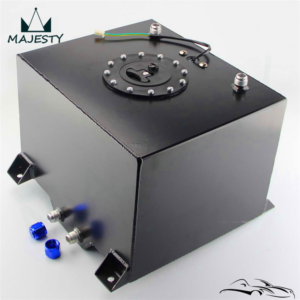 Aluminum 8 Gallon 30 5 Liter Racing Drift Fuel Cell Tank Level Sender