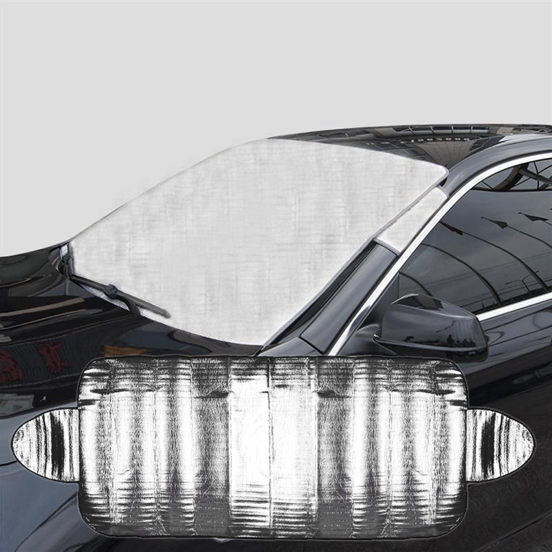 Practical Car Windscreen Cover Smart Windshield Cover Anti Shade Frost Ice Snow Protector UV Protection cover cover pl44027 06