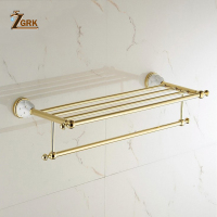 Bathroom Anti rust Toile Washroom Towel Rack Wall Stainless Steel Towel Rack Storage Hook Rod Holder Hanging Bar