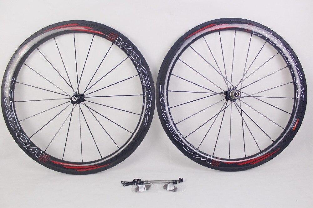 Ruote della bici della strada 700c 25mm larghezza 50mm graffatrice del  carbonio wheelset della bici della strada --- wokecyc decal 3b5512ccef50